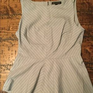 Banana Republic peplum top, size 4
